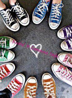 Converse - Chucks in every color. 1dd27e2c0cf1a