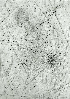 Emma Mcnally's Abstract Map Drawings | Beautiful/Decay Artist & Design
