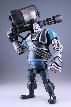 VALVe Team Fortress 2 Mann vs. Machine Robot Heavy | Artist: Ashley Woods
