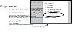Google agrega herramienta para denunciar noticias falsas directamente en el buscador