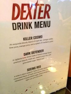 Aperitivo con Dexter