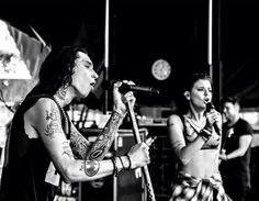 Performing at the Warped Tour 2015
