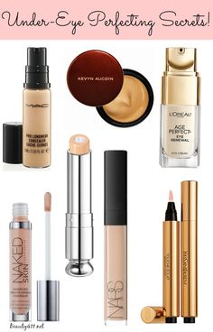 Best Under-Eye Perfecting Secrets...these are the products that work!