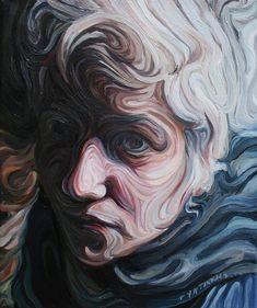 """Saatchi Online Artist: Nikos Gyftakis; """"Fouditsa"""" ... interesting style"""