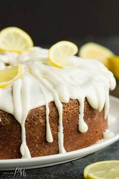 Trisha Yearwoods Lemon Pound Cake with Glaze recipe is always a favorite.