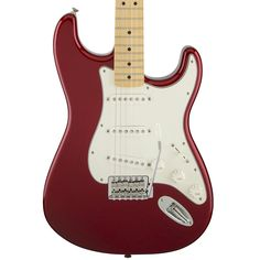 Fender STANDARD STRATOCASTER® Candy Apple Red - Maple Fingerboard