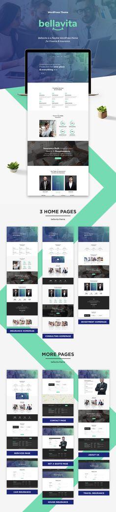 Bellavita - & Finance WordPress Theme by 404 Page, Video Background, Website Themes, Cool Websites, Website Template, Wordpress Theme, Digital Marketing, Finance, Purpose