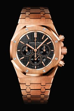 audemars piguet Pink Gold                          So Lovely! I want one!! :)