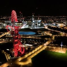 """523 Likes, 16 Comments - The Drone Company (@thedronecompany) on Instagram: """"We captured a beautiful shot of the #arcelormittalorbit tower while filming at the #olympicstadium…"""""""