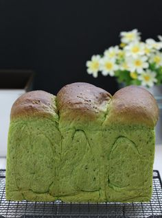 my bare cupboard: Chia-green tea milk bread
