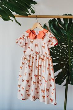 Wild Thing Dress by CharlieBirdKid on Etsy