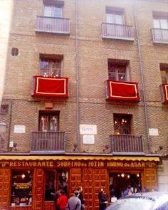 Sobrino de Botin; El mas viejo restaurant del mundo; Madrid