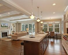 Roube 40 Ideias E Superdicas Para Sua Cozinha Americana Open Plan Living Design And Islands