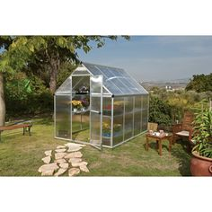 8x12 Twin Wall Greenhouse Get A Jump Start On The Growing