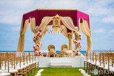 Shailja & Utkarsh's wedding was planned by Shailja's family and took approximately one year. Gujrati Wedding, Indian Wedding Ceremony, Bird Theme, Laguna Beach, Mehendi, Vibrant, Fair Grounds, Traditional, Travel