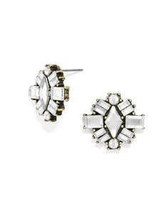 Jewelry Ideas  :    diamond cayman studs / baublebar   https://greatmag.net/fashion/accessories/jewelry/jewelry-ideas-diamond-cayman-studs-baublebar/