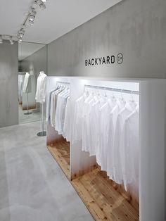 Gradients + Plywood = Nendo's Design for Backyard by   n - emmas designblogg