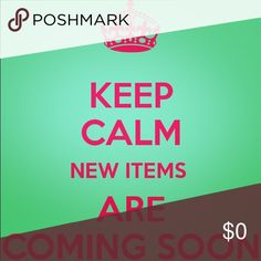 Brand New items coming next week!!  I have lots of NWT items coming next week! Stay tuned!!  Other