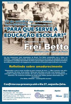"""Comunicado 2 """"Encontro com Frei Betto"""" - out.2009"""