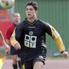 Cristiano Ronaldo in Sporting de Lisboa