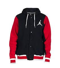 3d2d74b7a Red & Black Jordan Jacket | Clothes | Jordan jackets, Nike hoodies for men,  Jordans