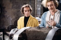 Gene Wilder and Marty Feldman in Young Frankenstein (1974)
