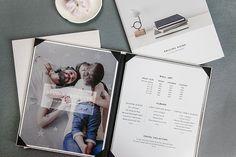 Portrait Collection Price Menu for Photographers