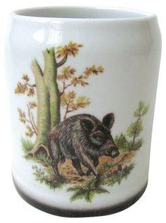 Viennese Boar Stein - Coffee Mugs - Coffee Mugs & Teacups - Drinkware - Tabletop - Decor & Entertaining