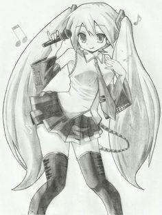 Dibujos Guays, Dibujos Kawaii, Dibujos Anime, Hatsune Dibujo, Esfera Del, Dragon Buscar, Dibujo Buscar, Dibujar, Lapiz De