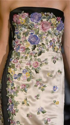 Embroidery and beading -Valentino