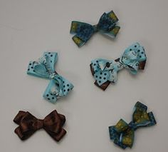 Little Birdie Secrets: how to make a hair bow - reader submission