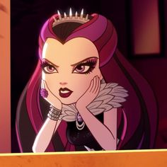 Ever After High, Cool Cartoons, Disney Cartoons, Best Cartoon Characters, Fictional Characters, Raven Queen, Friend Anime, Anime Wallpaper Live, Character Profile