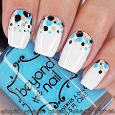 Polka Dots #notd #nailart #nailpolish
