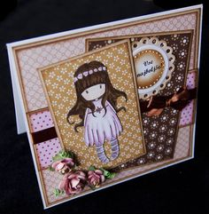 Gorjuss... My favorite. Gorjuss card too. Love the colors.