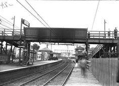 Footscray Railway Station in Victoria (year unknown).