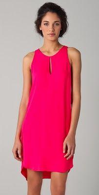Phillip Lim Hot Pink Dress Style | Big Fashion