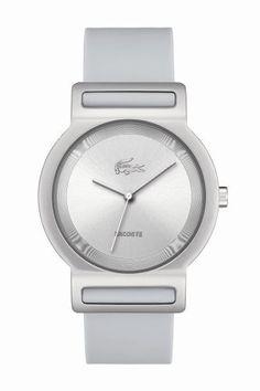 Lacoste Watch, Tokyo Silver Silcone Strap 2000697 - All Watches - Jewelry & Watches - Macy's Cool Watches, Watches For Men, Amazing Watches, Fine Watches, Men's Watches, Bracelet Silicone, Tokyo, Perfume, Modern Man