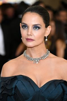 Katie Holmes Classic Bun - Katie Holmes kept it timeless with this classic bun at the 2017 Met Gala.