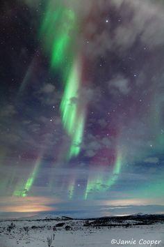 Aurora Borealis ~ Lapland, Finland ~ Jamie Cooper