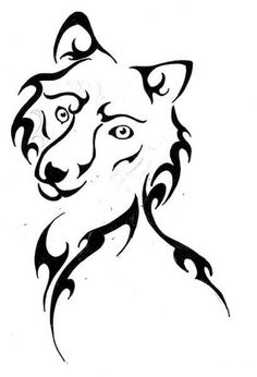 Wolf Tattoo Design - see more designs on http://thebodyisacanvas.com