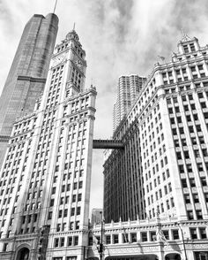 Wrigley Building, Chicago Photography, Chicago Architecture, Chicago, Chicago Prints, City Photography, Large Art Print, Travel Art, Urban