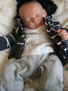LIFESIZE SLEEPING REBORN BABY BOY DOLL ~ STANLEY ~ | eBay