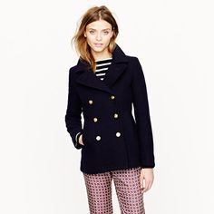 Passports and Peep Toes: JCrew Majesty Peacoat