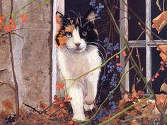 Осенние коты  (автор ?)
