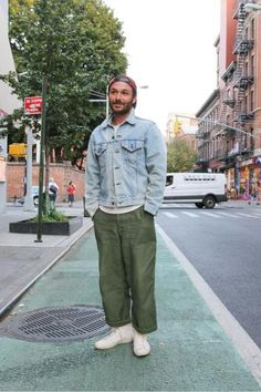 Casual Utility - Street Style at The Idle Man