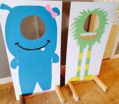 Monster photo booth par MonsterBirthday sur Etsy - Kevin's Birthday - Anniversaire Monster Birthday Parties, Monster Party, First Birthday Parties, Boy Birthday, First Birthdays, Monster Photo Booths, Monster Photos, Diy For Kids, Crafts For Kids