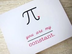 Love note for math enthusiasts.