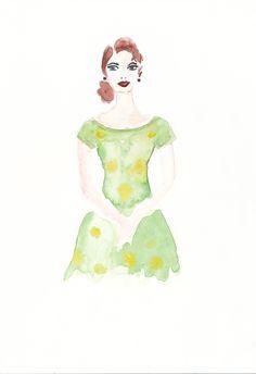Beauty Queen. Illustration: Gillian Didham