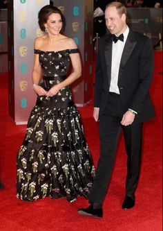 Kate Middleton & Prince William at the 2017 BAFTAs