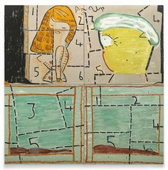 fpdv2014 exchange of views and artistic collaboration: FPDV / ARTIST PRESENTATION / Rose Wylie : culture visuelle, démesure comique… / by Nicolas Savignat
